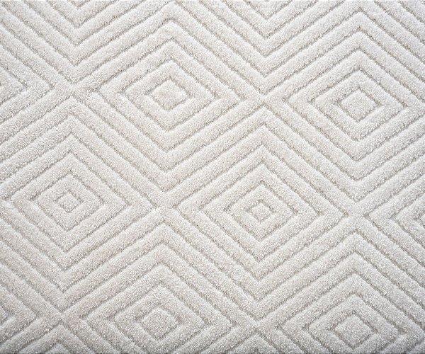 Amostra Tapete Infinity Diamond marfim