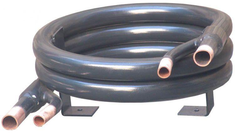 CONDENSADOR TUBE IN TUBE 2TR - COBRE