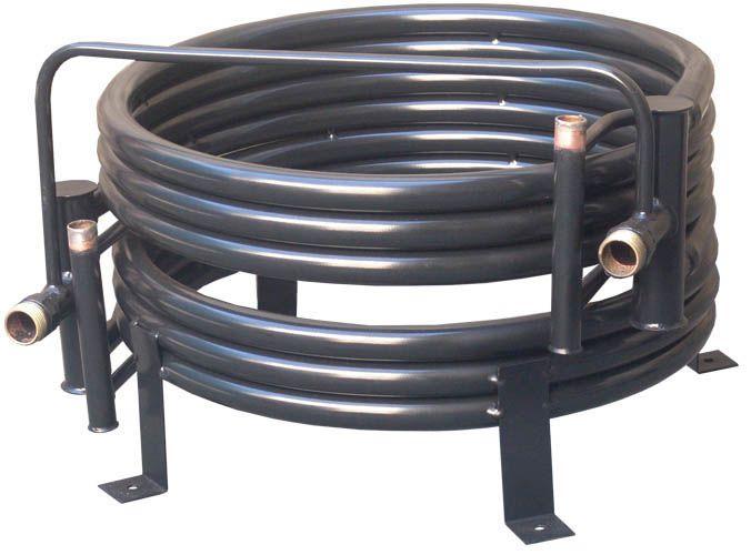 CONDENSADOR TUBE IN TUBE - COBRE 10 TR - 2 CIRCUITOS