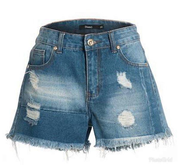 Short Jeans Recortes