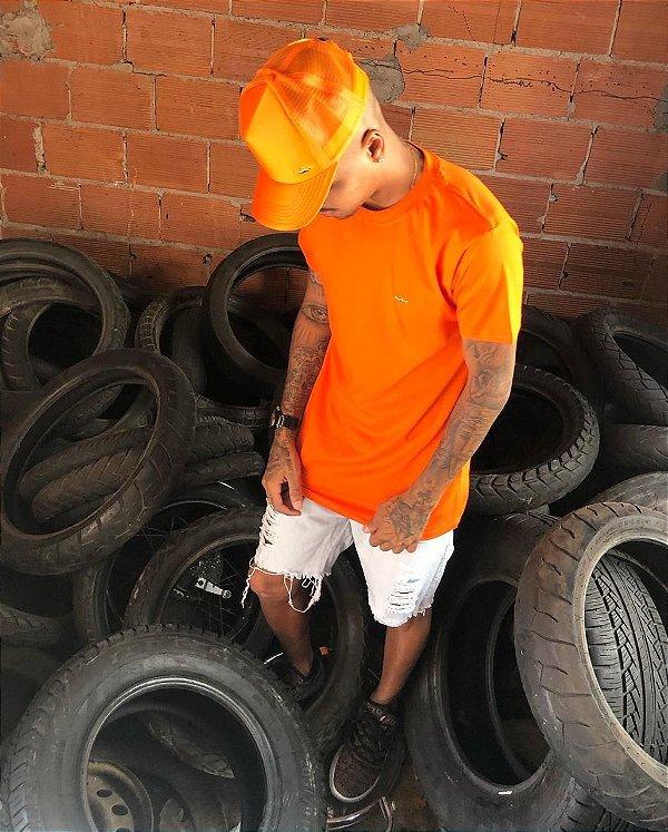 Blusa collors laranja