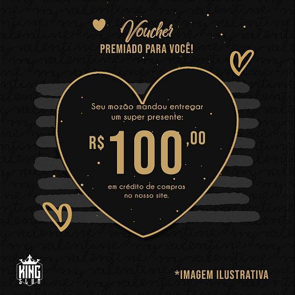 Vale presente de R$:100 para o mozão