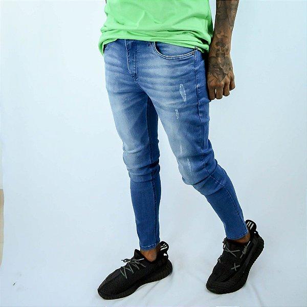 Calça jeans lisa