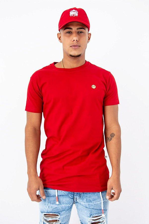 Blusa collors vermelha