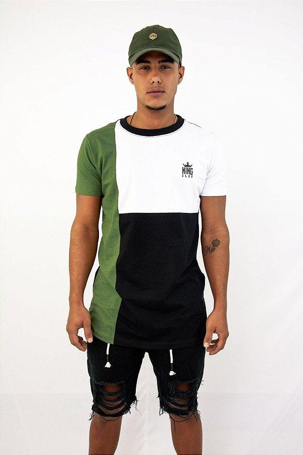 Blusa recort verde