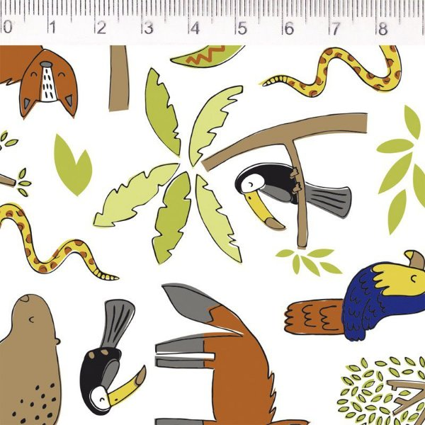 Tecido Fauna Coqueiro Maior ES028C01