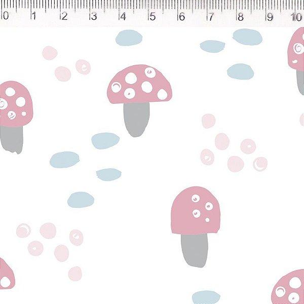 Tecido Cogumelos ES036C01