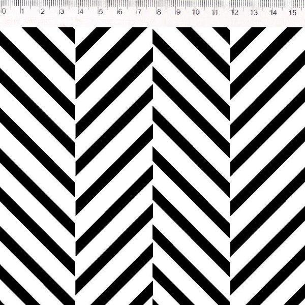 Monochrome Faixas Preto e Branco (30623C01)