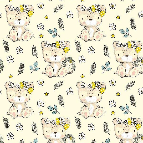 Tecido Teddy Mrs. Teddy 14003 50x150