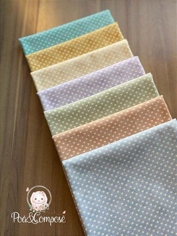 Kit Coleção Mini Corações 50x75 (frete grátis)