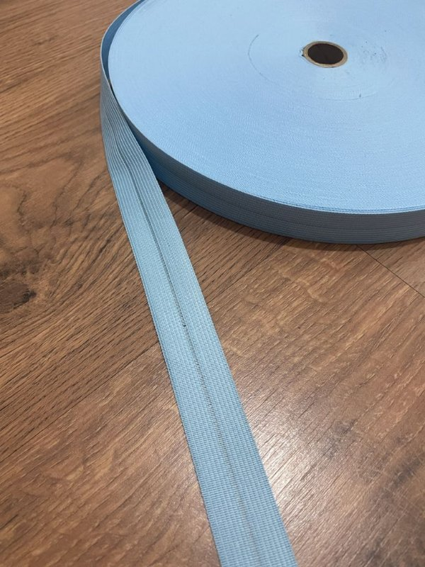 Viés Boneon 25 mm cor Azul Bebê (METRO)