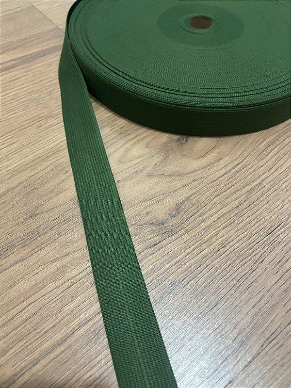 Viés Boneon 25 mm cor Verde Musgo (METRO)