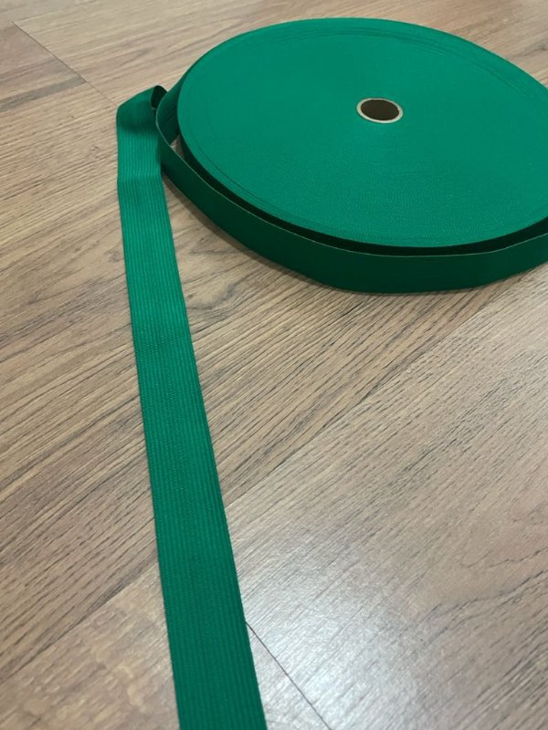 Viés Boneon 25 mm cor Verde Bandeira (PEÇA)