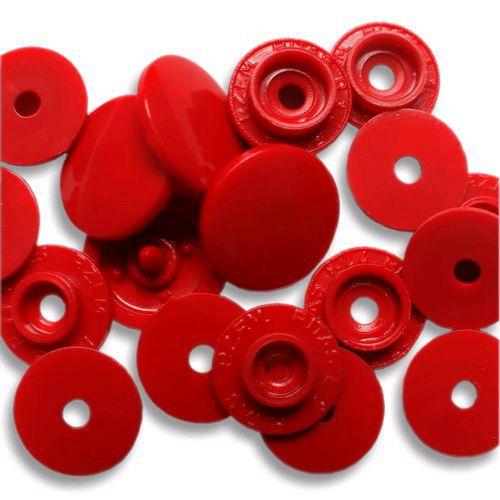 Botão Rita cor Vermelho (Tam. 10)