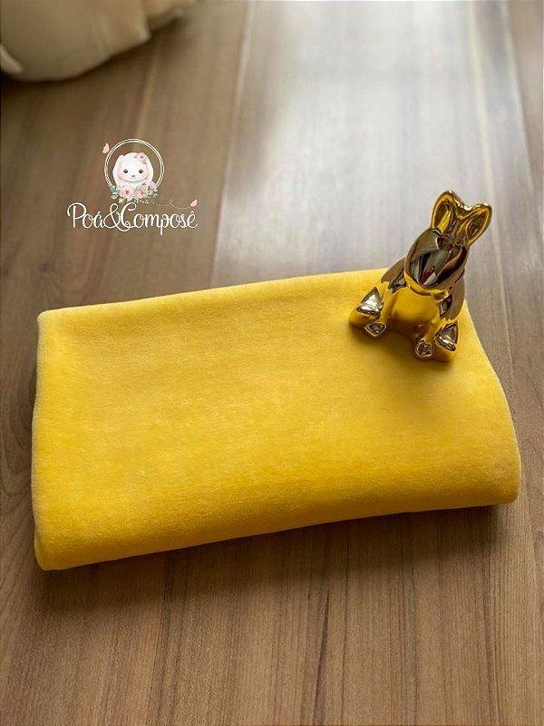 Plush cor Amarelo Ouro 50x80