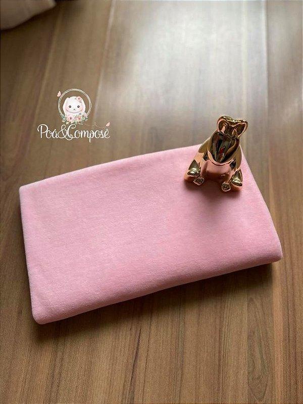 Plush cor Rosa Bebê 50x80