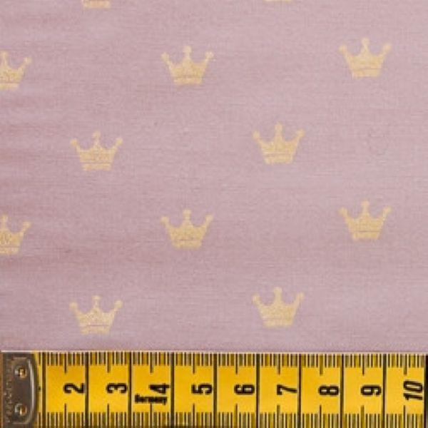 Tecido Coroa Rosa TU001C01