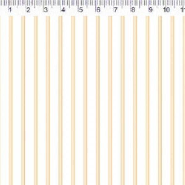 Tecido Jardim Listas Amarela VG066C03