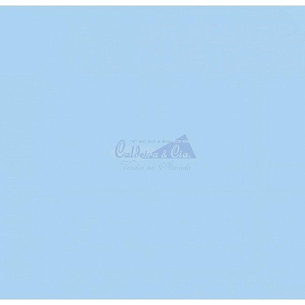 Tecido Liso azul bebê (Cor 4253)