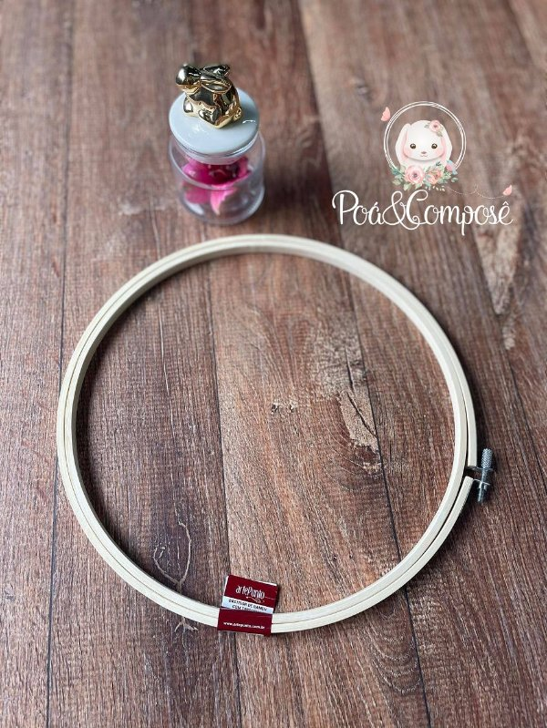 Bastidor de Bambu 25 cm