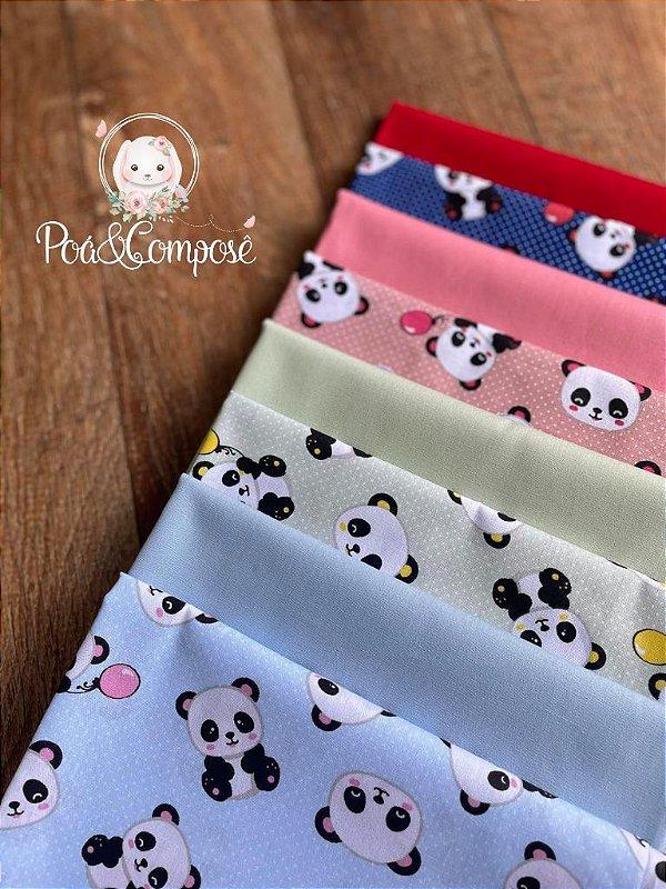 Kit Panda Composê Liso 50x75