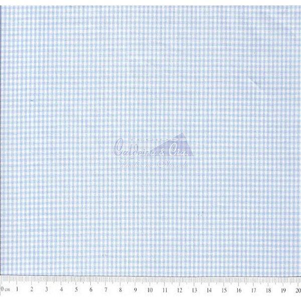 Tecido Xadrez Miúdo Azul Claro (IXM)