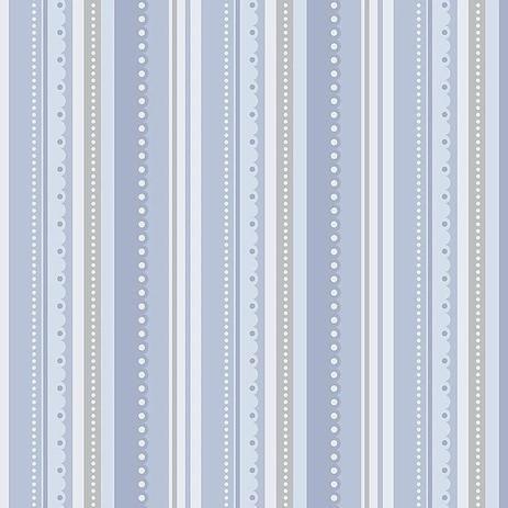 Tecido Listrado Azul RT138