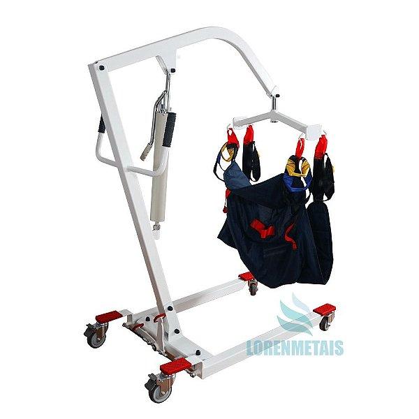 Elevador Guincho Elétrico Para Pacientes Acamados de até 180kg - 18004