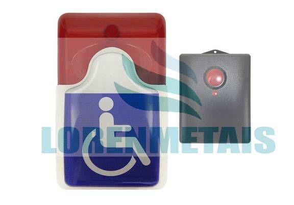 Alarme banheiro deficiente PNE audiovisual sem fio - 5001