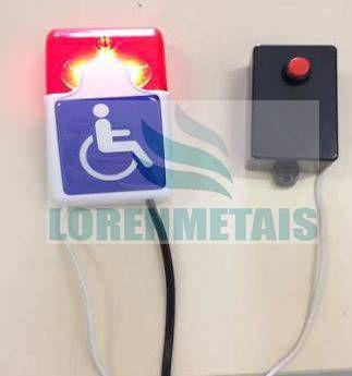 Alarme PNE Com Fio Para Sanitário Acessível - 5003