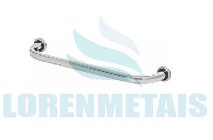 Barra de Apoio Reta 80 cm em Aluminio Para Banheiro PNE - 24007