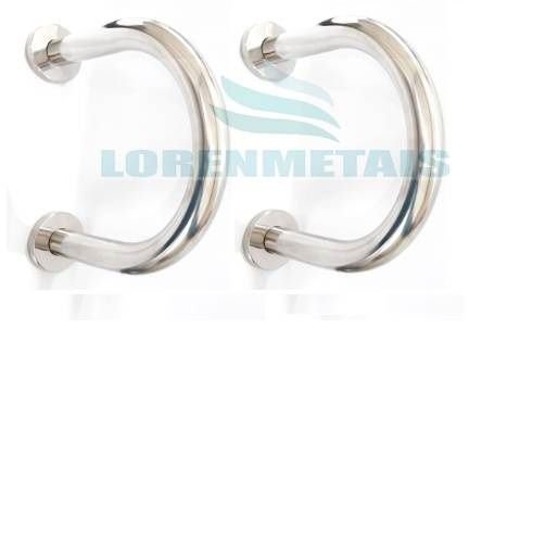 Barra de apoio em inox lateral para lavatório - 1027