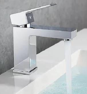 Torneira Monocomando Quadrada Para Banheiro Luxo - 7041
