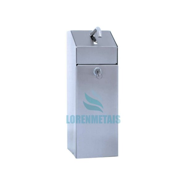 Saboneteira Industrial Inox Quadrada 1500ml - 10005