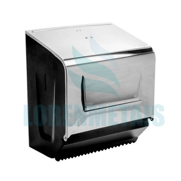 Dispenser De Papel Toalha Bobina Em Aço Carbono/Inox