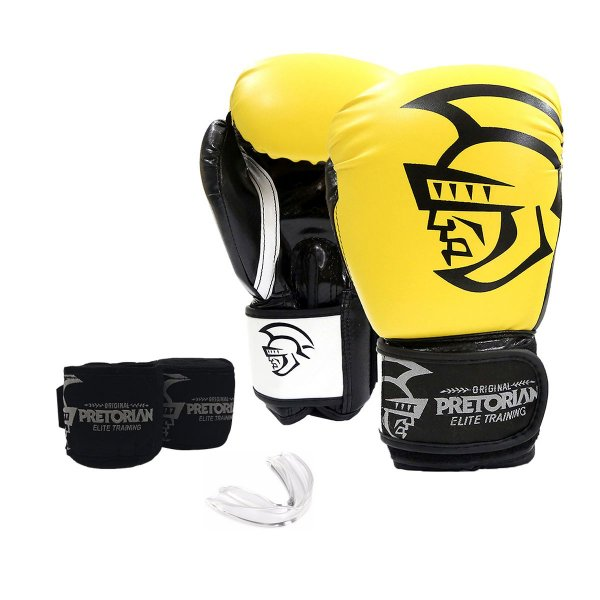 KIT DE BOXE/MUAY THAI PRETORIAN ELITE TRAINING AMARELO