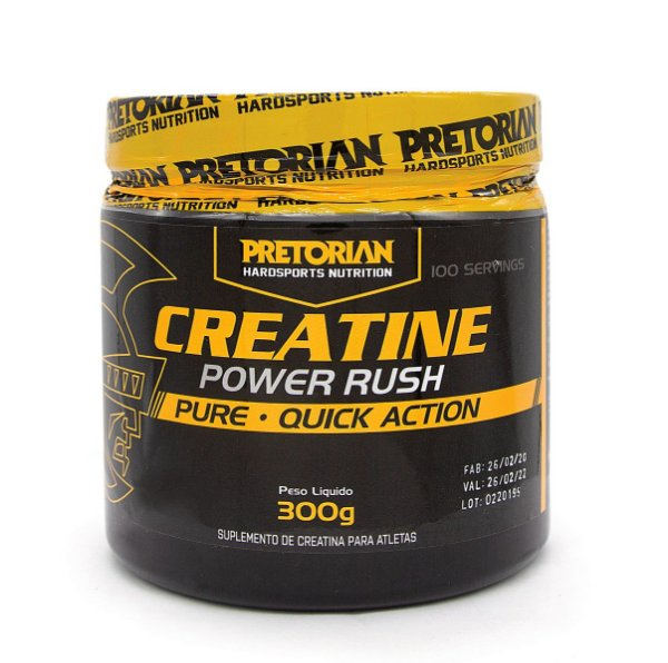A CREATINA POWER RUSH PRETORIAN  300GR
