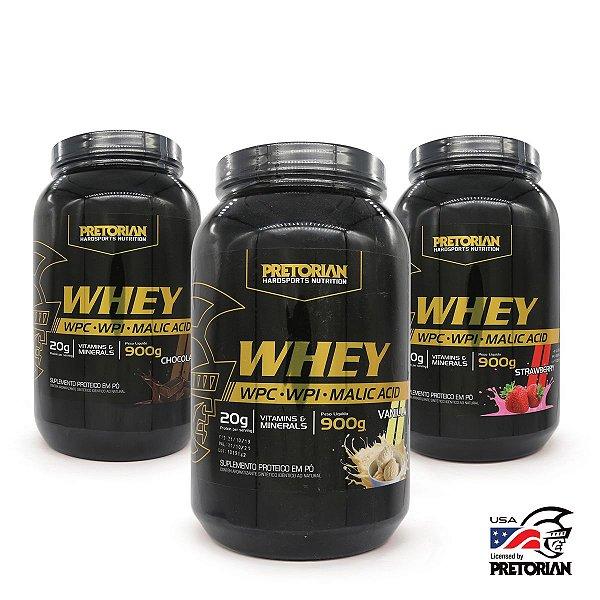 Kit Sabores Whey Ultra Protein Pretorian Wpc + Wpi 900gr