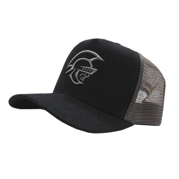 BONÉ TRUCKER SNAP BLACK PRETORIAN ELMO