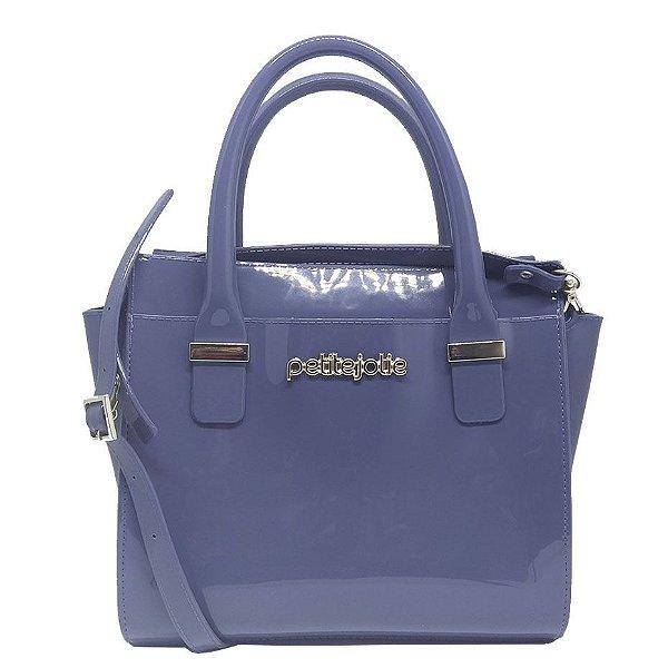 Bolsa Petite Jolie Love Bag Pj2121 Azul Acinzentado