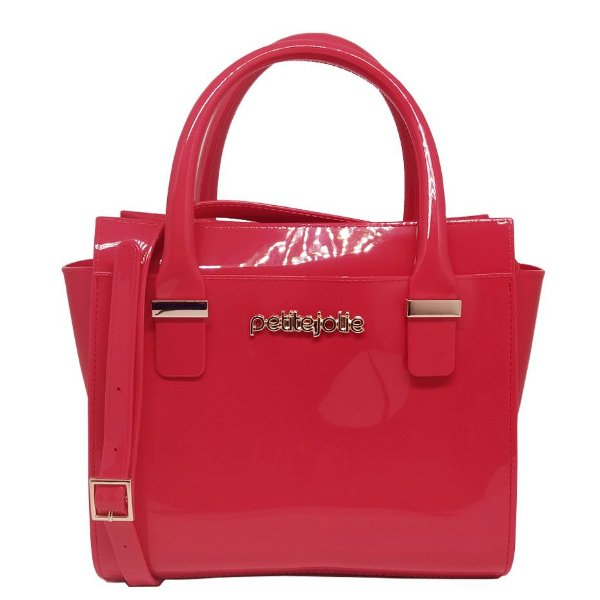 Bolsa Petite Jolie Love Bag Pj2121 Rosa Melancia