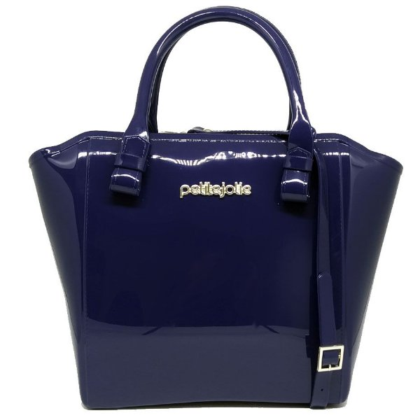 Bolsa Petite Jolie Shape Bag PJ3939 Azul Escuro