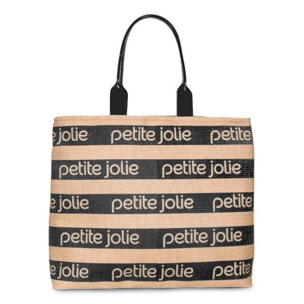 Bolsa Petite Jolie Summer PJ4724 Natural/Preto