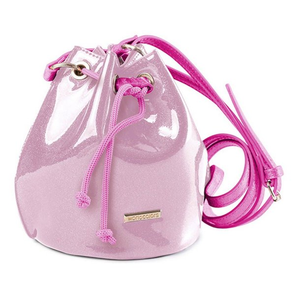 Bolsa Infantil World Colors Amora Rosa