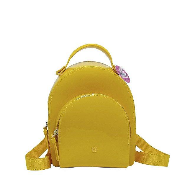 Mini mochila Petite Jolie Little PJ4406 Amarelo