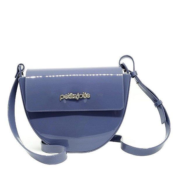 Bolsa Petite Jolie PJ4499 Crush Azul Acinzentado