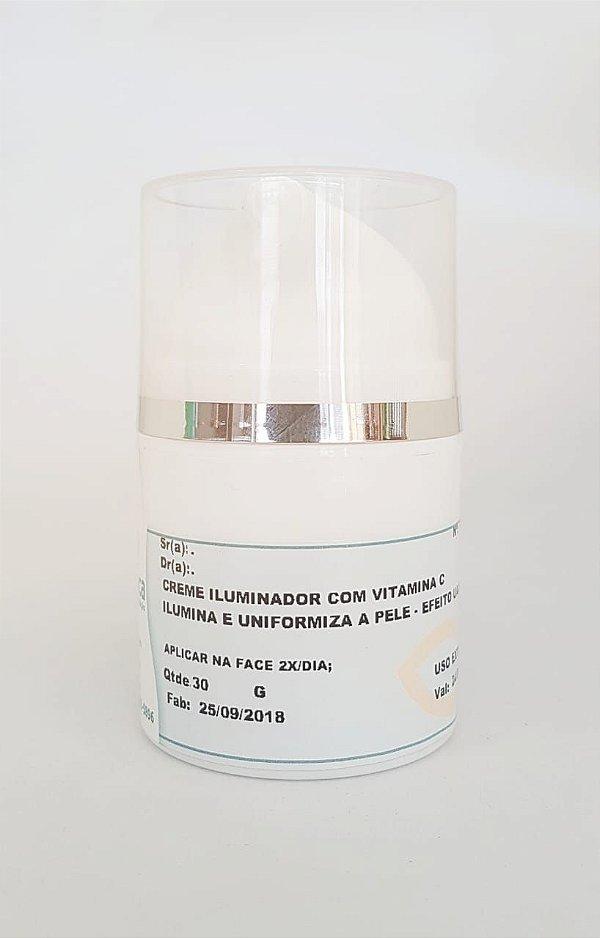 Creme iluminador com vitamina C - com Cameleon caps- Ilumina e Uniformiza a pele