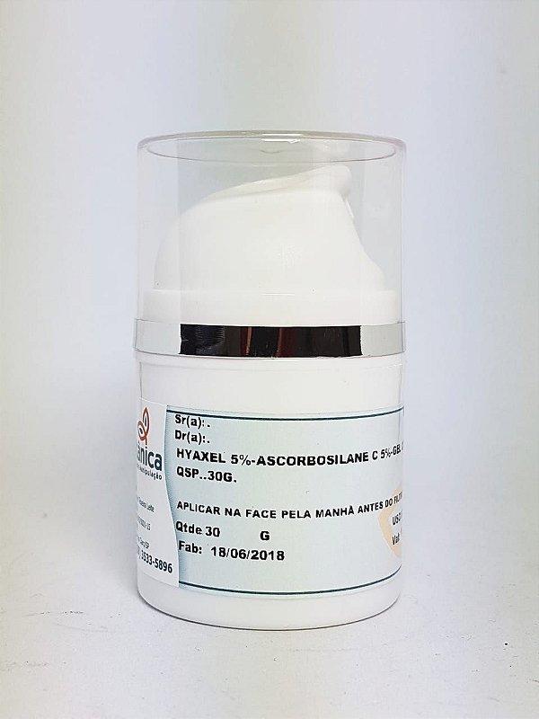 Gel Creme Hyaxel e Ascorbosilane C - Booster de Ácido Hialurônico