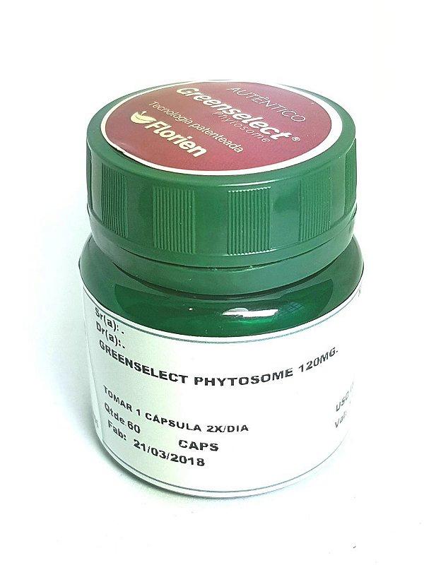 Greenselect Phytosome® 120mg 60 cápsulas