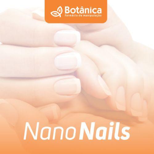 Nano Nails 10ml - Loção reparadora e fortaceledora de unhas